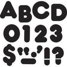 "TEP T79001 Trend 3"" Casual Uppercase Ready Letters TEPT79001"