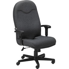MLN 9413AG2110 Mayline Comfort Series Executive High-back Chair MLN9413AG2110