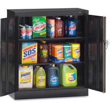 TNN 4218BK Tennsco Counter-High Storage Cabinets TNN4218BK