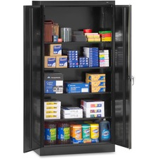 TNN 7218BK Tennsco Full-Height Standard Storage Cabinets TNN7218BK