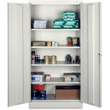 TNN 7218LGY Tennsco Full-Height Standard Storage Cabinets TNN7218LGY