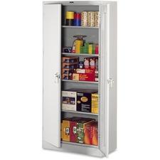 TNN 7824LGY Tennsco Full-Height Deluxe Storage Cabinets TNN7824LGY