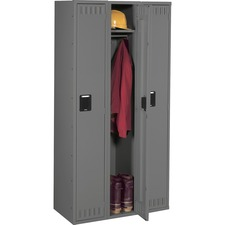 TNN STS121872CMG Tennsco Single-Tier 3-Wide Steel Lockers TNNSTS121872CMG