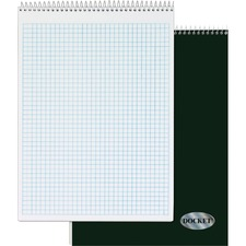 TOP 63801 Tops Wirebound Docket Quadrille Pad TOP63801