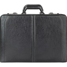 "USL 4714 US Luggage Classic 16"" Leather Attache USL4714"
