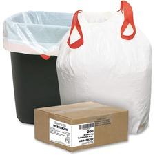 WBI 1DK200 Webster 13 Gallon Drawstring Trash Bags WBI1DK200