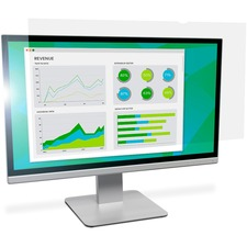 """3M Anti-Glare Filter for 19 in Monitors 16:10 AG190W1B Clear, Matte - For 19"""" Widescreen LCD Monitor - 16:10 - Scratch Resistant, Fingerprint Resistant, Dust Resistant - Anti-glare"""