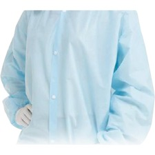 Paramedic Protective Coverall - Liquid, Contaminant Protection - Blue - 10 / Pack