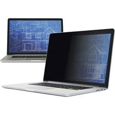 "3M Privacy Screen Filter Black, Matte - For 15.4"" Widescreen LCD MacBook Pro - 16:10 - Scratch Resistant, Fingerprint Resistant, Dust Resistant - Anti-glare"