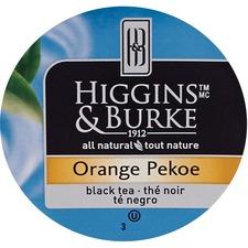 Higgins & Burke Naturals Natural Orange Pekoe Black Tea K-Cup - Black Tea - Orange Pekoe, Ceylon, Kenya - 24 / Box