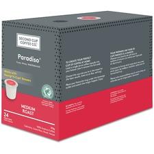 Second Cup Dark Paradiso Coffee K-Cup - Fruity - Medium - 24 / Box