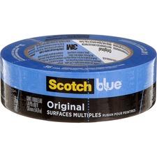 """ScotchBlue Painter's Masking Tape - x 1.42"""" (36 mm) Width - 1 / Roll - Blue"""