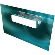Gemex Magnetized Badge Holder - Vinyl, Plastic - 20 / Box - Clear