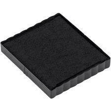 Trodat 4924 Printy Replacement Pad - 1 Each - Black Ink