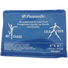 "Paramedic Hot/cold Compress 6"" x 8"" - 7.87"" (200 mm) Height x 5.91"" (150 mm) Width - 1 Each"