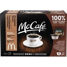 Elco McCafe Premium Roast Coffee K-cups Pod - Colombian - Medium - 12 / Box