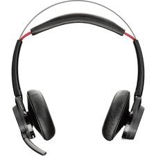 Plantronics B825-M Voyager Focus UC Headset - Stereo - Wireless - Bluetooth - Over-the-head - Binaural - Supra-aural