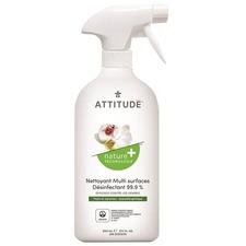 Bio Spectra Attitude Disinfectant - Liquid - 27.1 fl oz (0.8 quart) - Citrus Scent - 1 Each