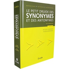 Antidote Le Petit Druide des synonymes et des antonymes Printed Book by Druide - September 2013 - Book - French