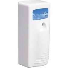 Stratus® Interval Air Freshener Dispenser - 0.08 Hour, 0.17 Hour, 0.25 Hour, 0.33 Hour - 1 Each - White, Blue