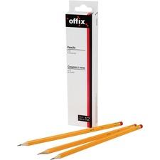 Offix Pencils - HB Lead - 12 / Box