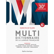 Socadis Dictionary. Multi-Lang French 30th Anniversary Printed Book - Multilingual, French