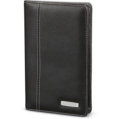 "Business Card Holder, 8"" x 0.5"" x 5"", Black"