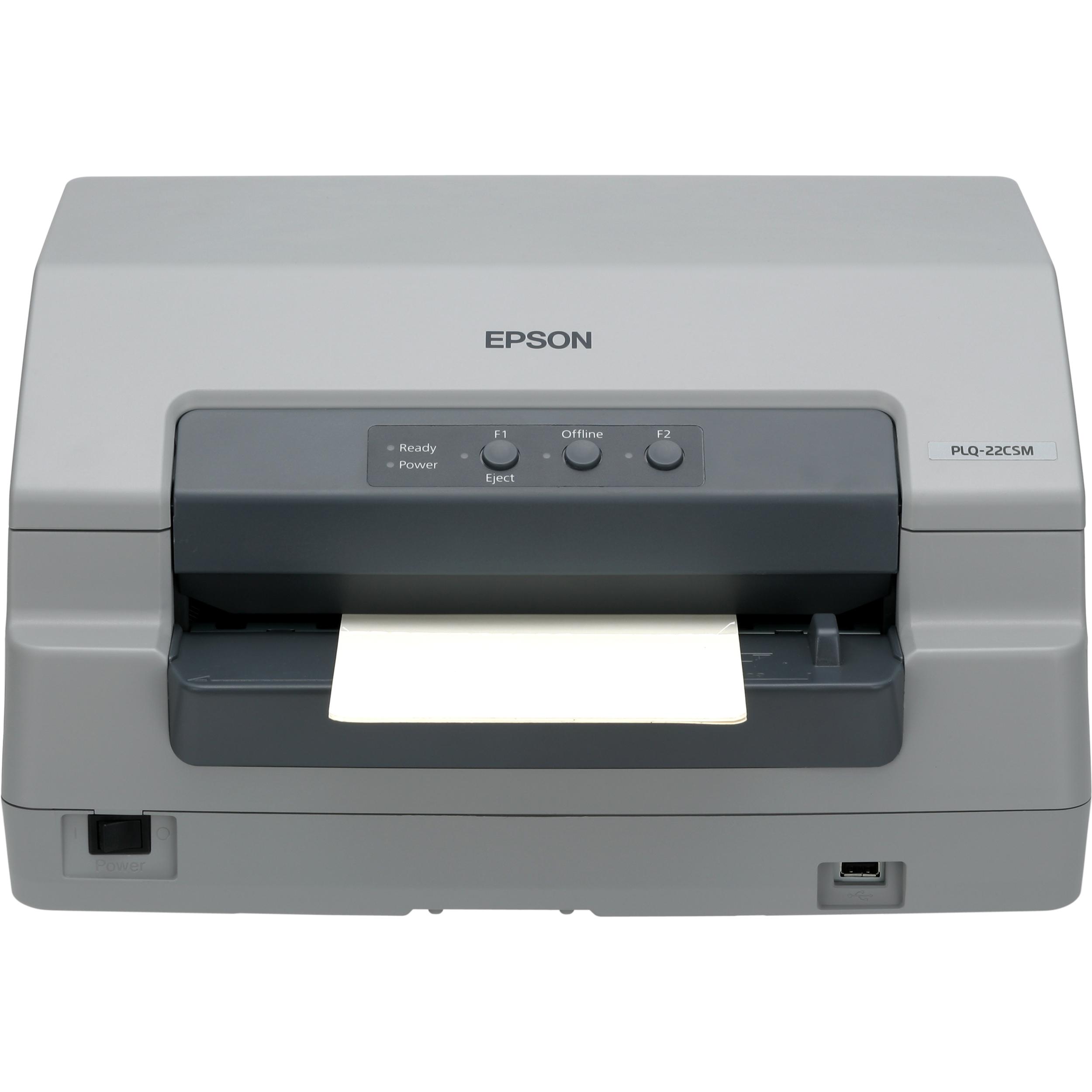 Epson PLQ-22 CS Dot Matrix Printer - Monochrome