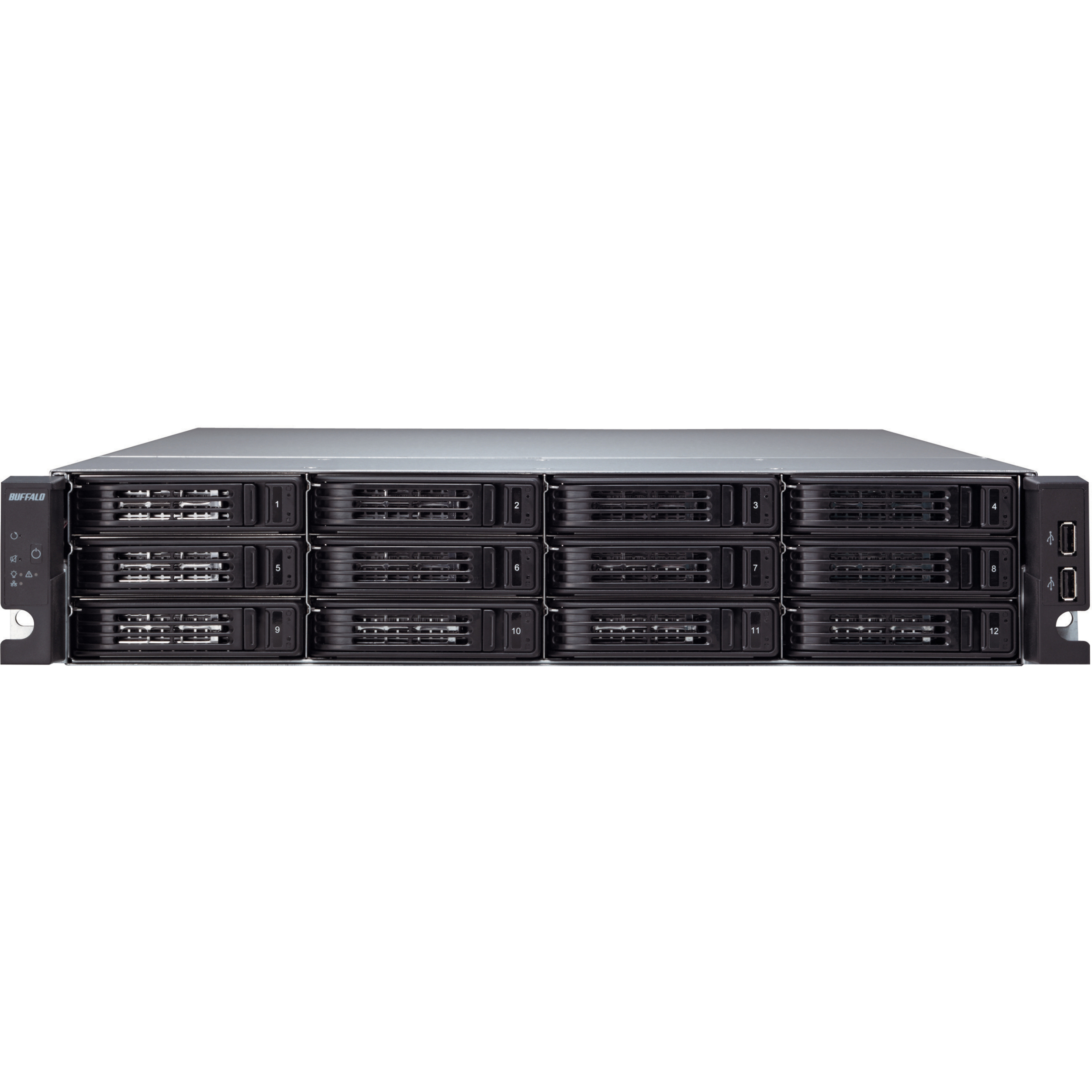 Buffalo TeraStation TS-2RZS08T04D 12 x Total Bays Network Storage Server - 2U - Rack-mountable