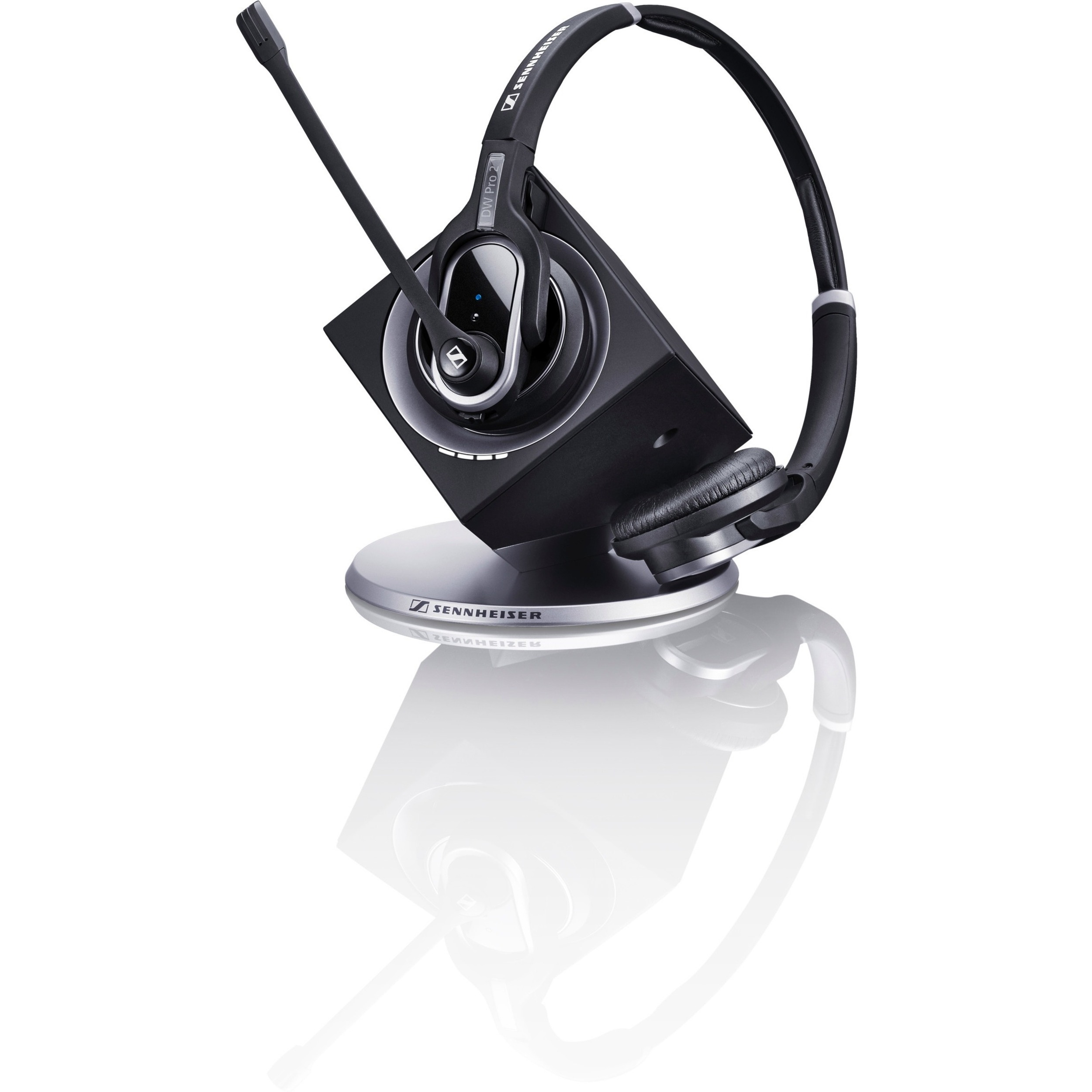 Sennheiser DW Pro2 USB Wireless DECT Stereo Headset - Over-the-head, Over-the-ear - Supra-aural