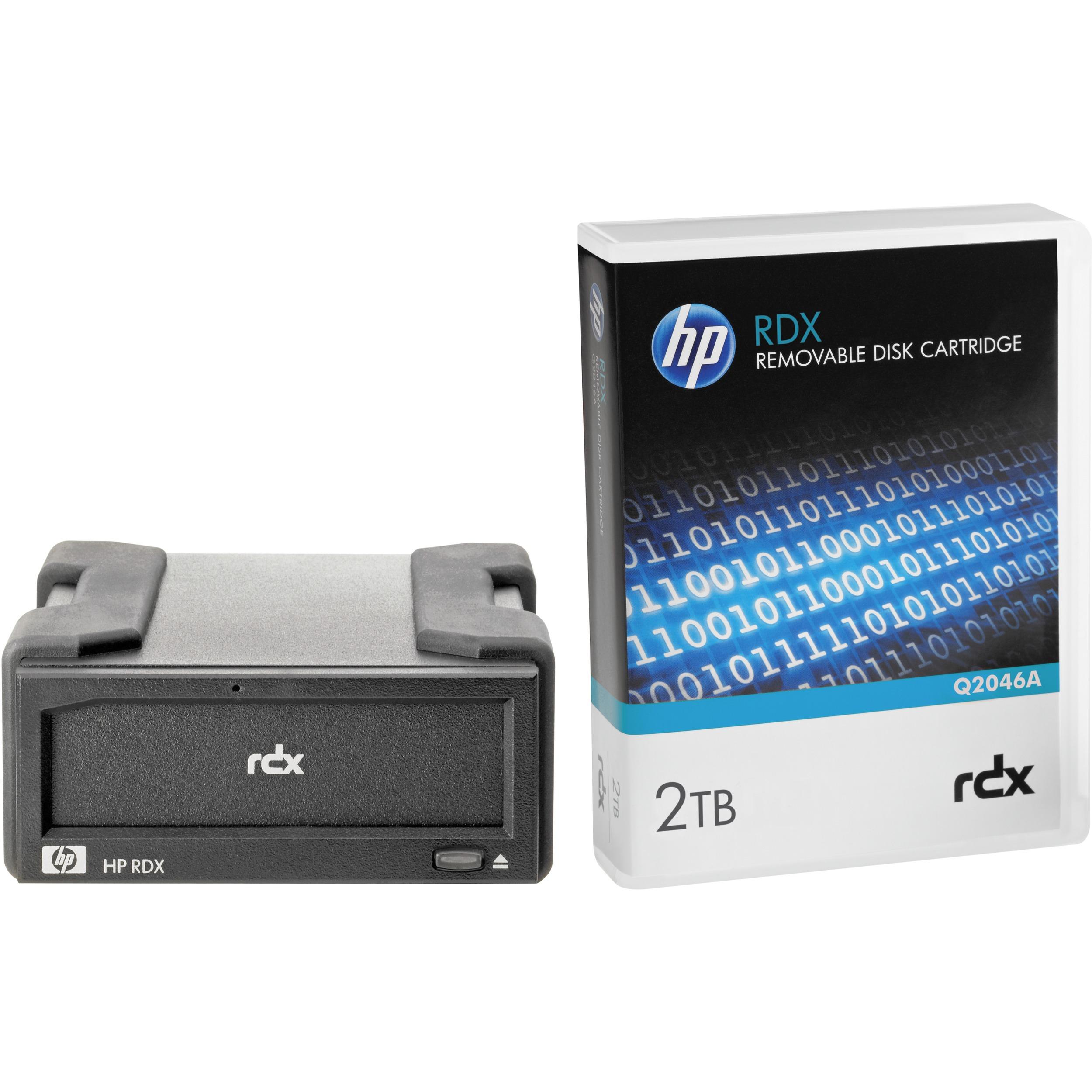 HP 2 TB External Hard Drive Cartridge