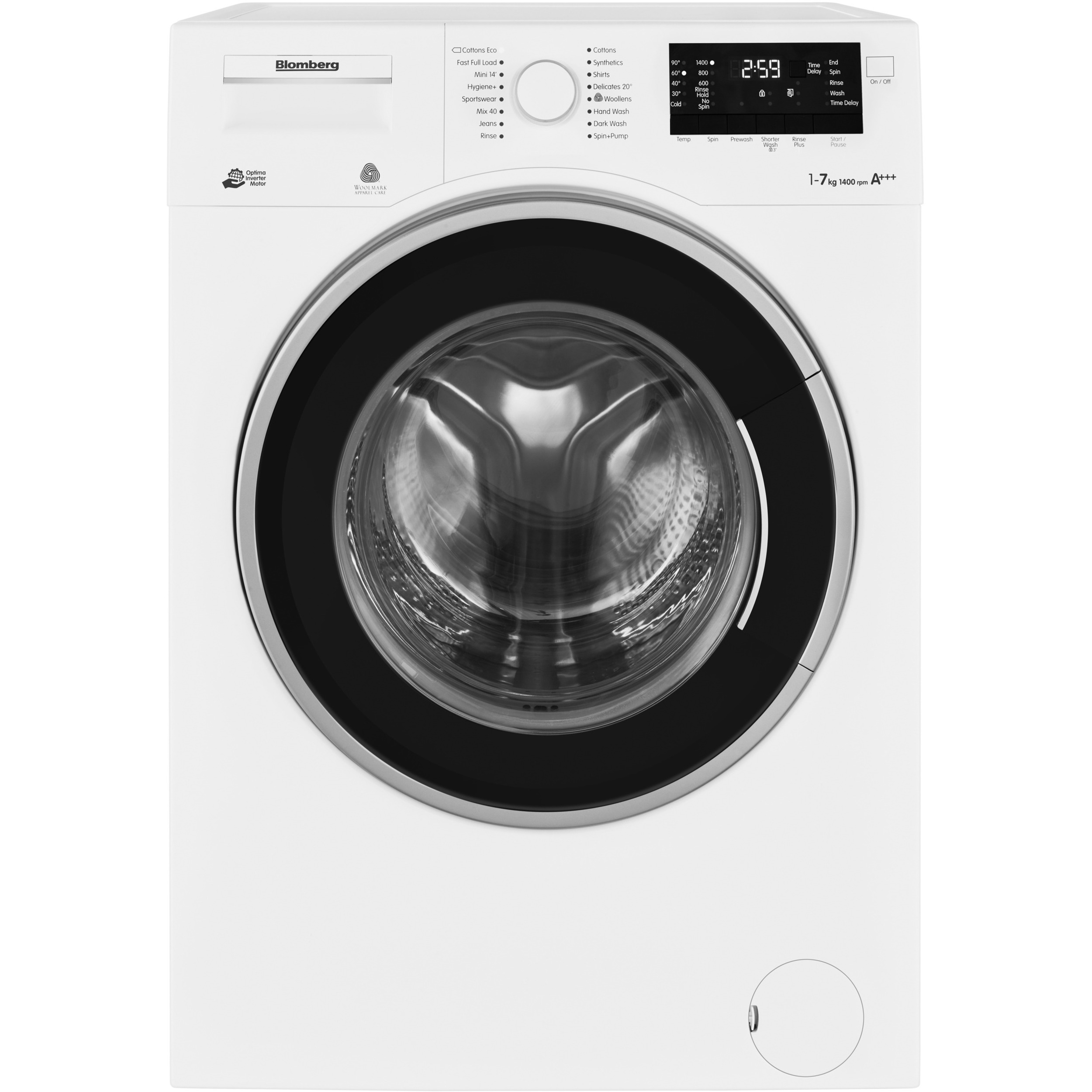 Mini Washing Machines Blomberg 7 Kg Washing Machine With Time Delay