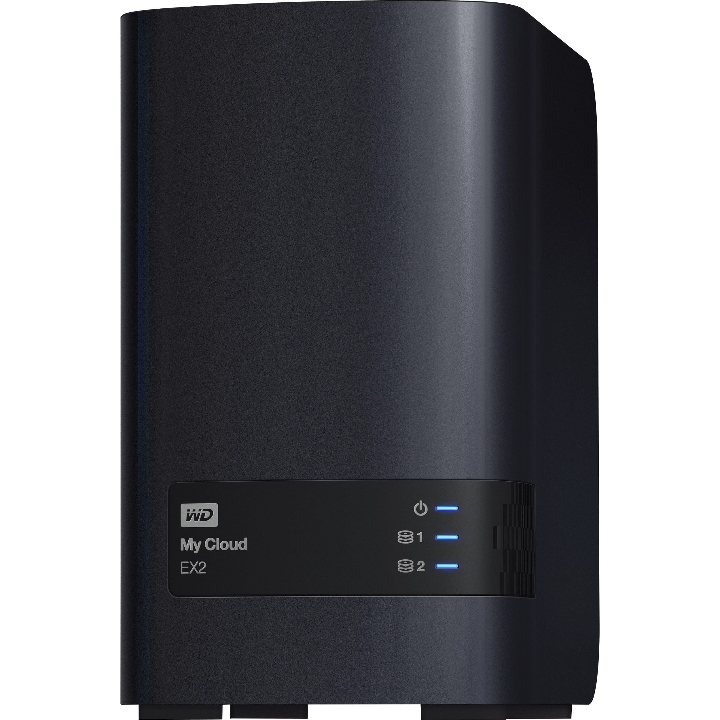 WD My Cloud EX2 WDBVBZ0040JCH-EESN 2 x Total Bays NAS Server