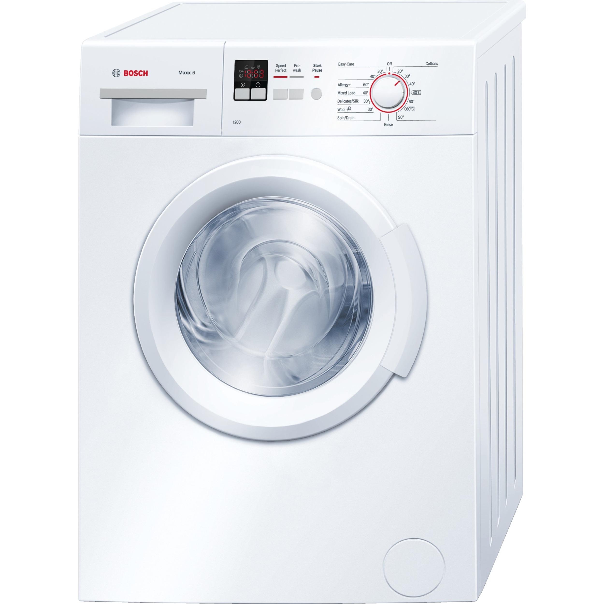 Standard Washing Machine Width Bosch 6 Kg Automatic Washing Machine Wab24161gb