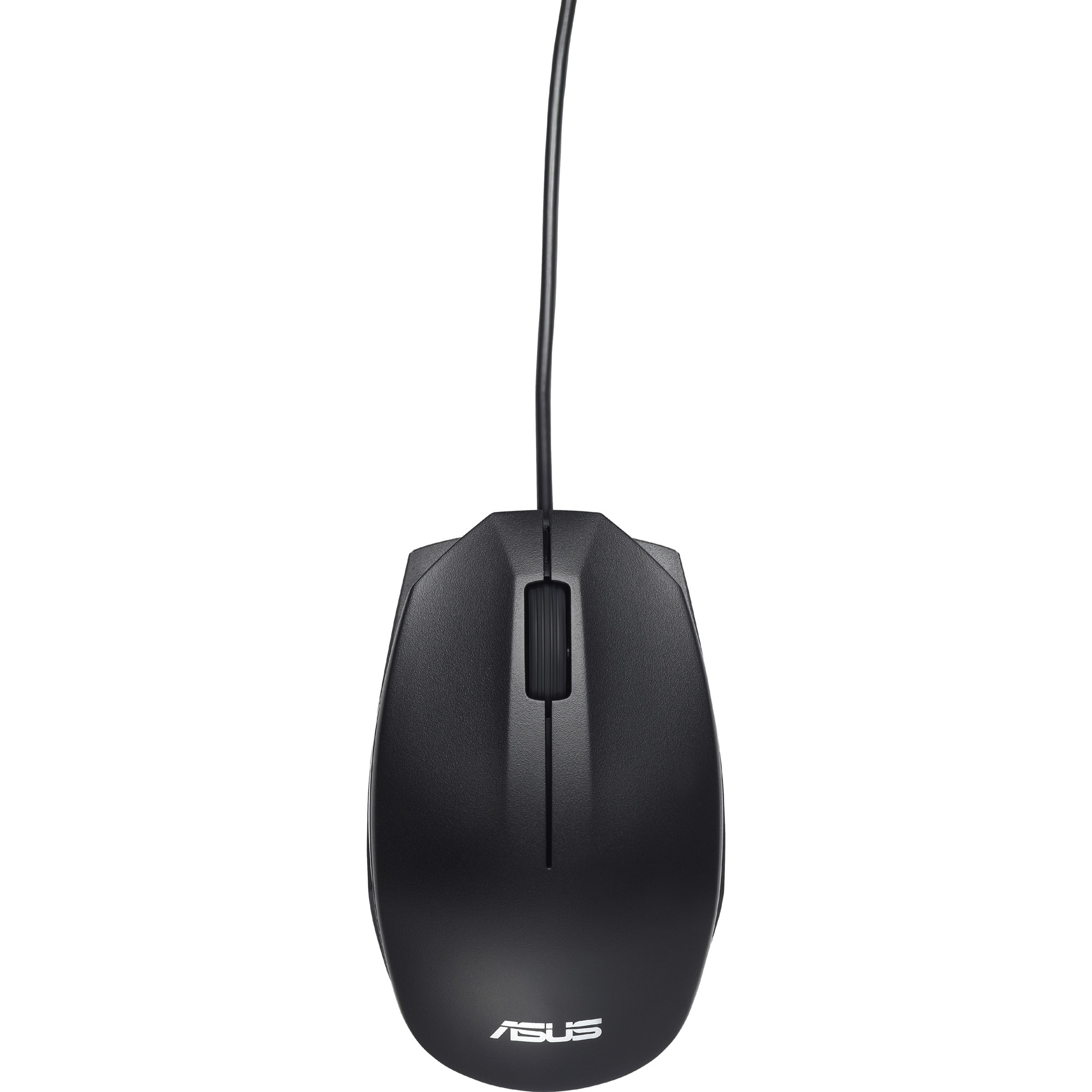 Asus UT280 Mouse - Optical - Cable - 3 Buttons - Black