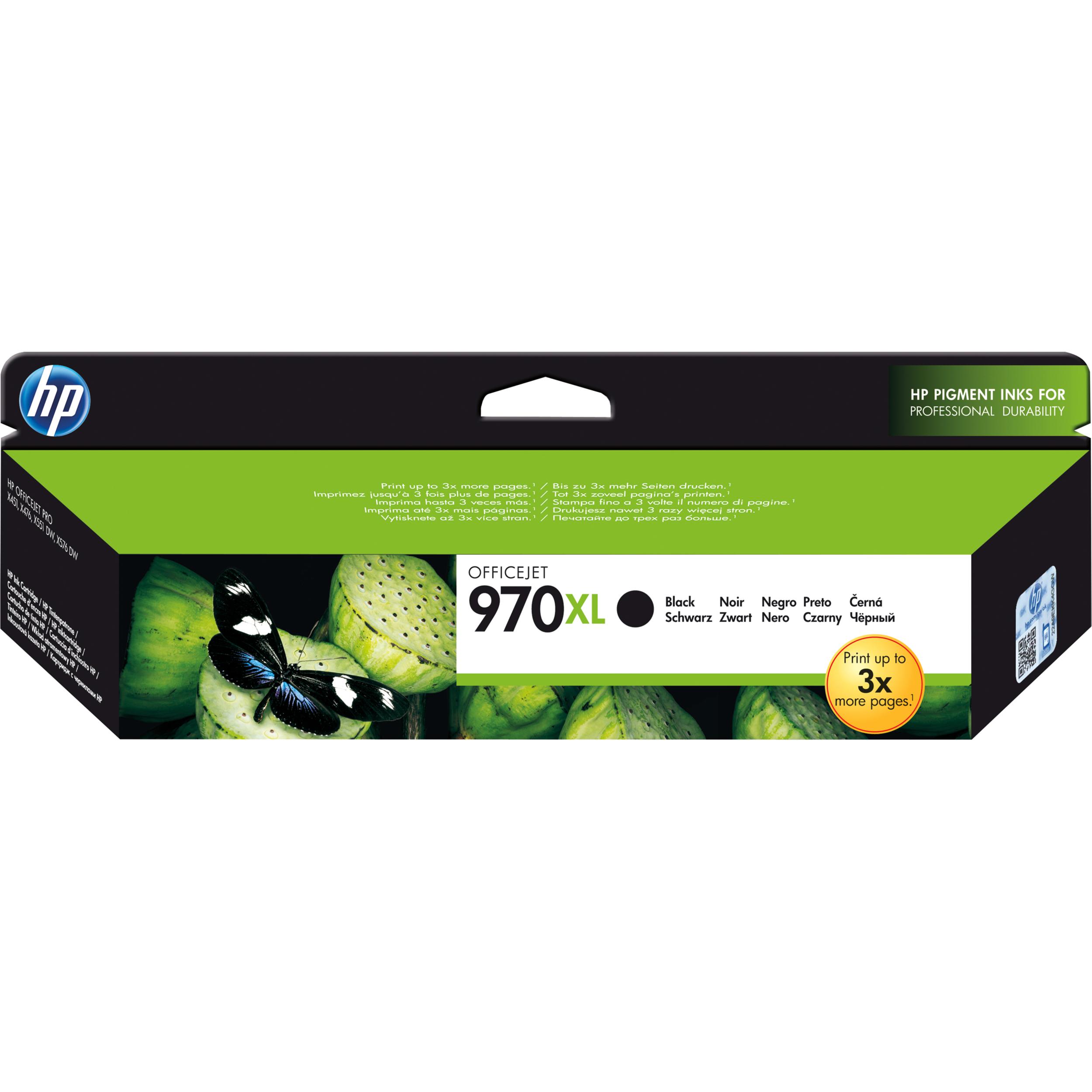 HP 971XL Ink Cartridge - Black