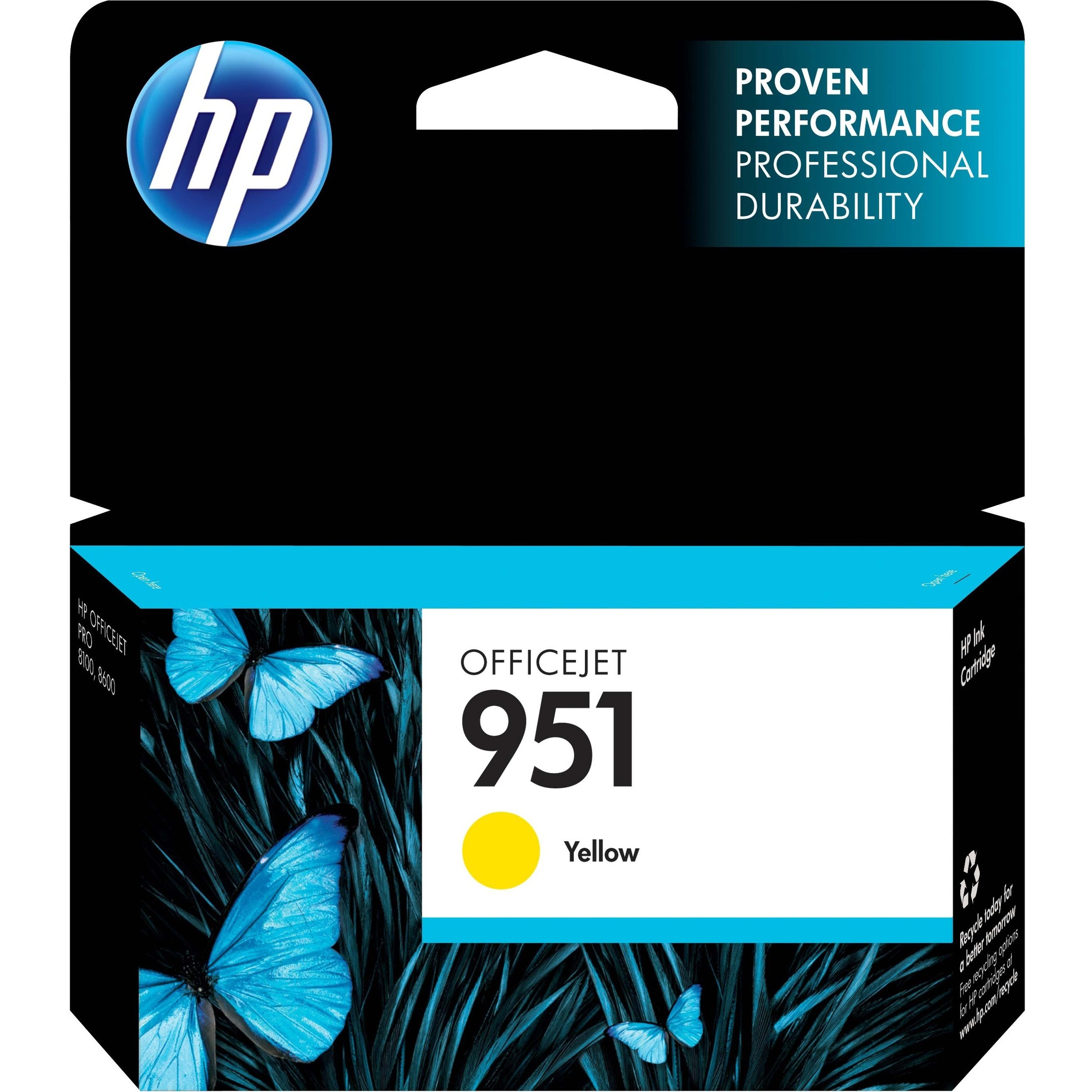 HP 951 Yellow Ink Cartridge - CN052AE#BGY
