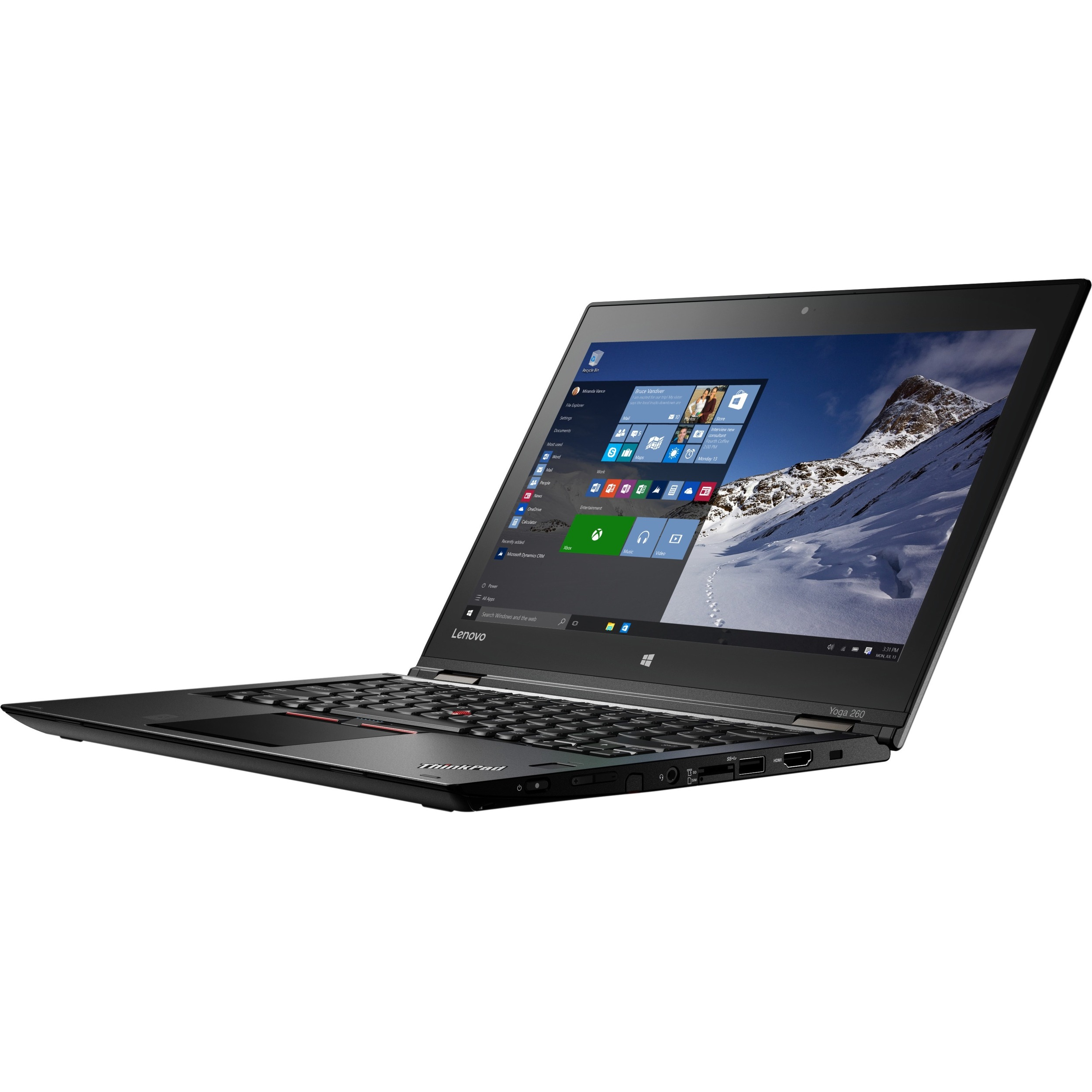 Lenovo ThinkPad Yoga 260 20FD0048UK 12.5inch Touchscreen LCD 2 in 1 Ultrabook - Intel Core i7 6th Gen