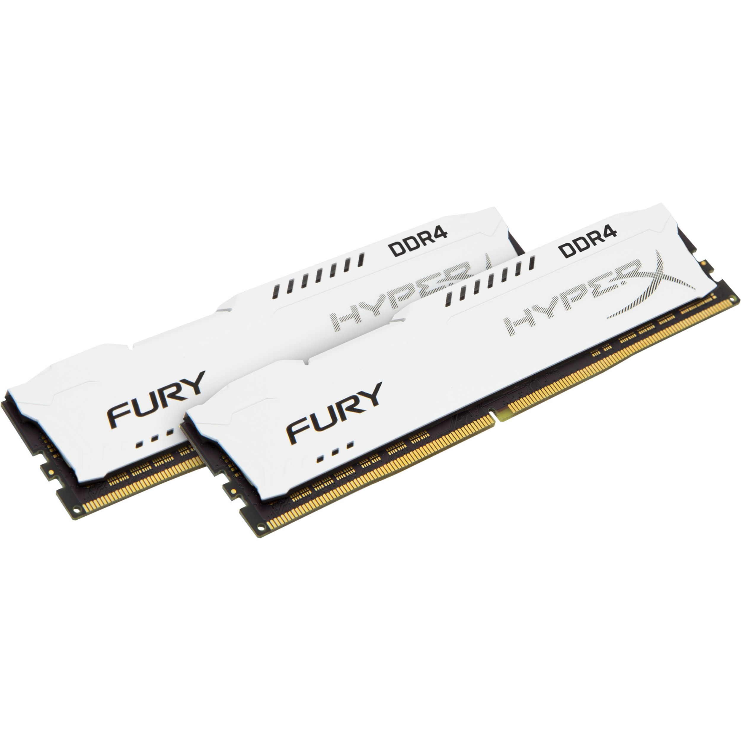 Kingston HyperX Fury RAM Module - 16 GB 2 x 8 GB - DDR4 SDRAM - 2133 MHz - 1.20 V - Non-ECC - Unbuffered - CL14 - 288-pin - DIMM