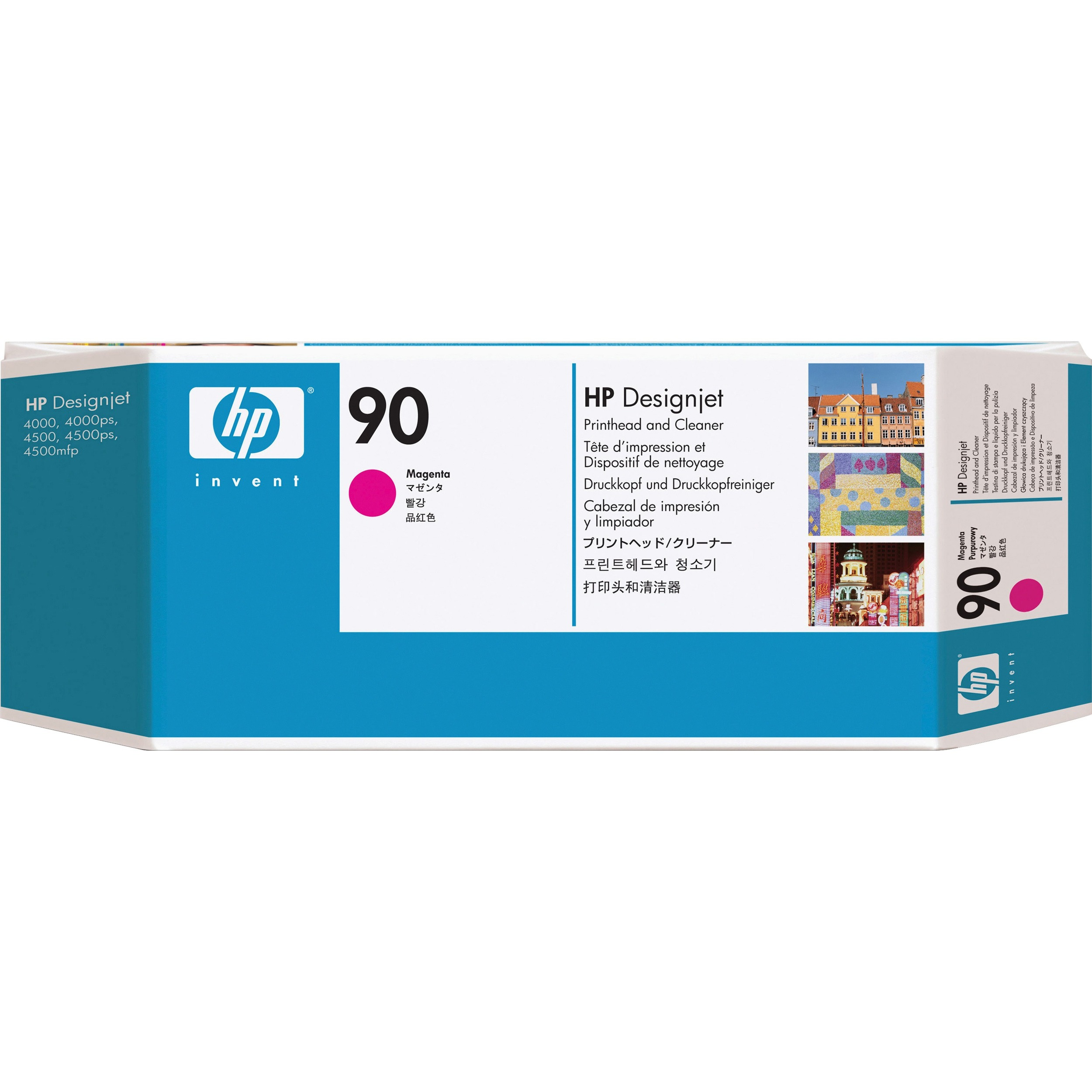 HP 90 Magenta Printhead with Cleaner