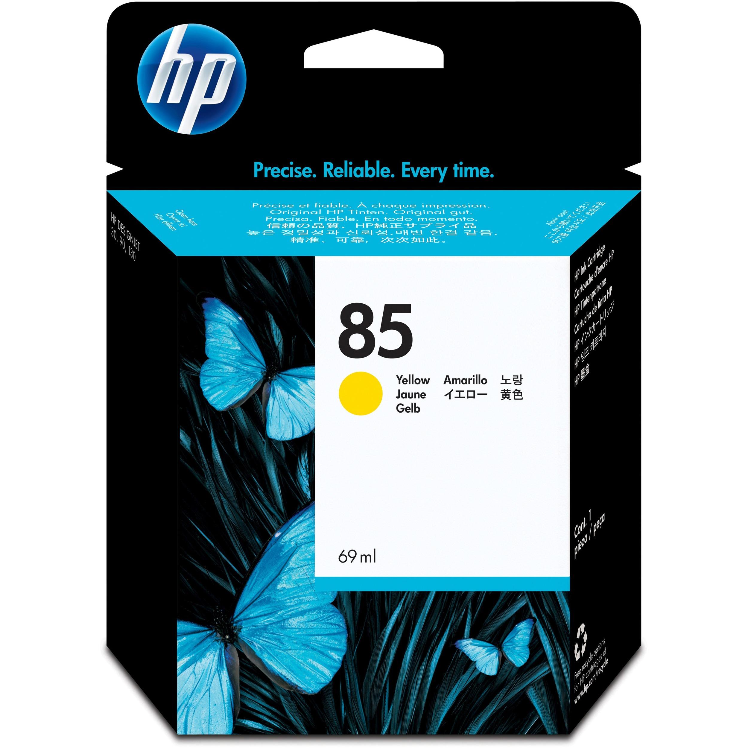 HP No. 85 Ink Cartridge - Yellow