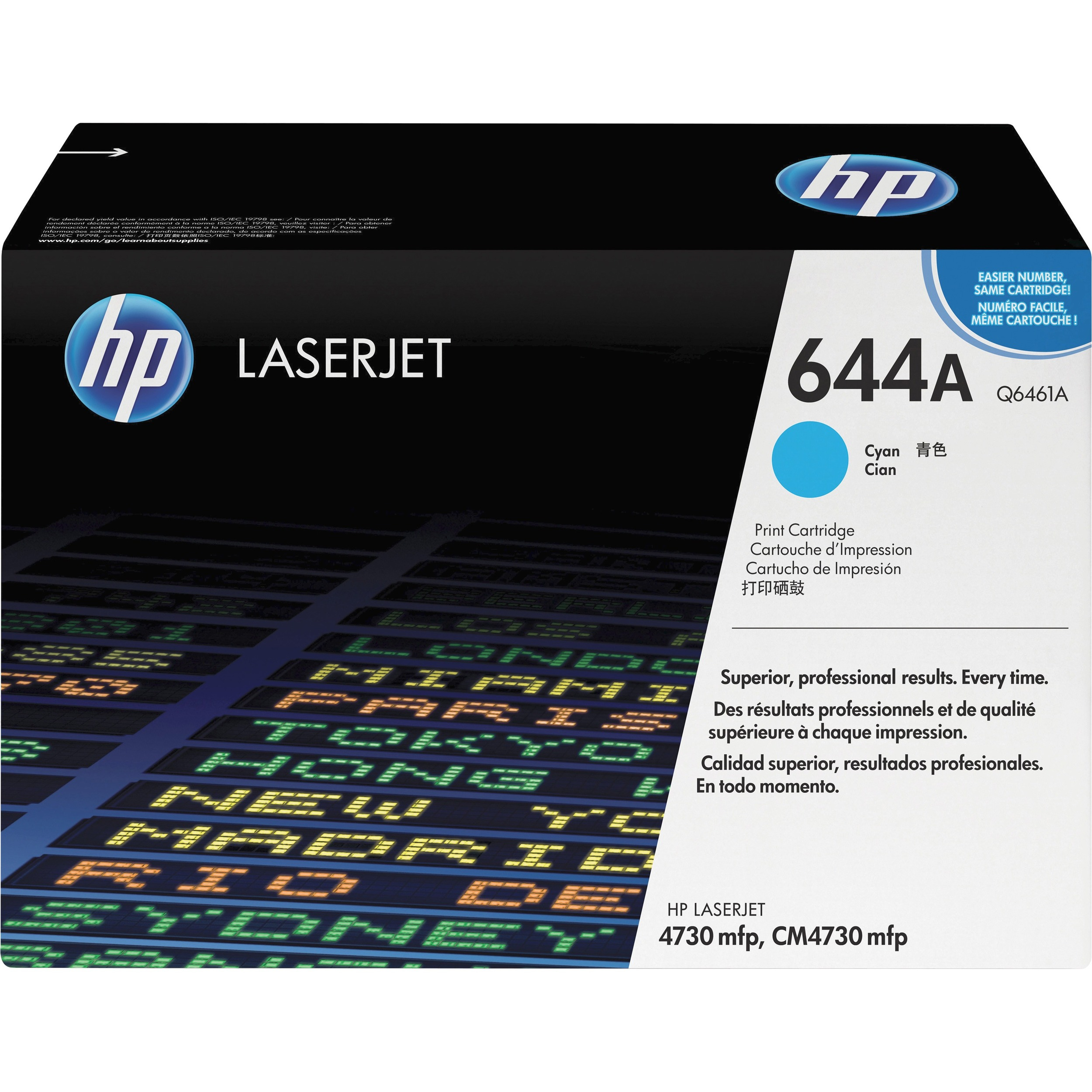HP Q6461A Toner Cartridge - Cyan