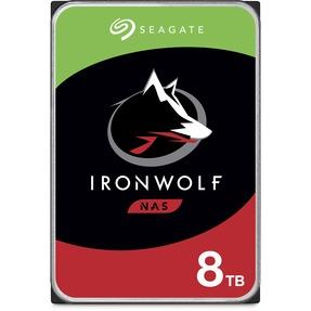 Seagate IronWolf 8TB NAS Int. Hard Drive  – CMR 3.5 Inch SATA 6Gb/s 7200 RPM 256MB 3Yr Warr.(ST8000VN004)