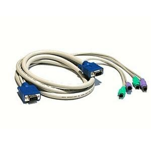 6ft Single Kvm Cable- Ser Ms/At Or Ps2 Kybd and Vga F/ Switchview / Mfr. no.: CSER-6A