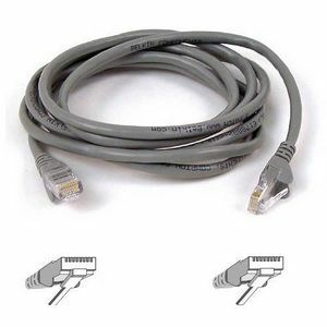 20ft Cat5e Gray Patch Cord Snagless ROHS / Mfr. No.: A3l791-20-S