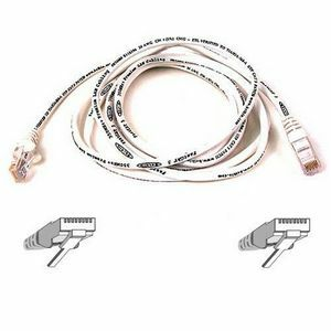 10ft Cat5e White Patch Cord Snagless ROHS / Mfr. No.: A3l791-10-Wht-S