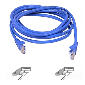 15ft Cat5e Blue Patch Cord Snagless ROHS / Mfr. No.: A3l791-15-Blu-S