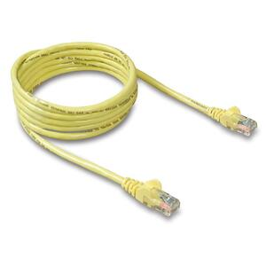 7ft Cat5e Yellow Patch Cord Snagless ROHS / Mfr. No.: A3l791-07-Ylw-S
