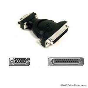 At Serial Adapter Block Db9m To Db25f / Mfr. No.: F2l087