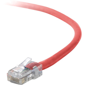 Belkin Cat5e Crossover Cable 1ft - Red / Mfr. No.: A3X126-01-RED